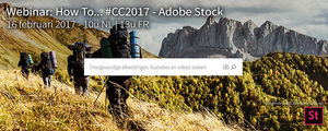 Lab9 - Webinar How to... #CC17, Adobe Stock - 16 februari 2017