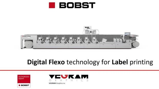 BOBST - Digital Flexo technology for Label & Flexible Packaging printing