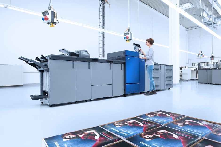 Konica Minolta introduceert AccurioPress-serie