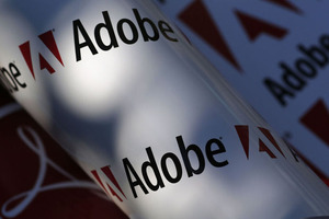 Recordomzet voor softwaremaker Adobe