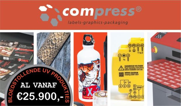 Compress iUV600s UV LED Printer