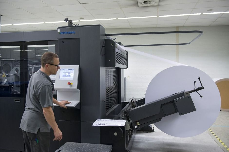 Heidelberg Speedmaster XL 106 Cutstar bij Multi Packaging Solutions