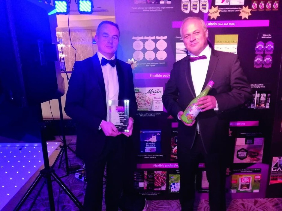 Athena Graphics wint FlexoTech Award in Londen
