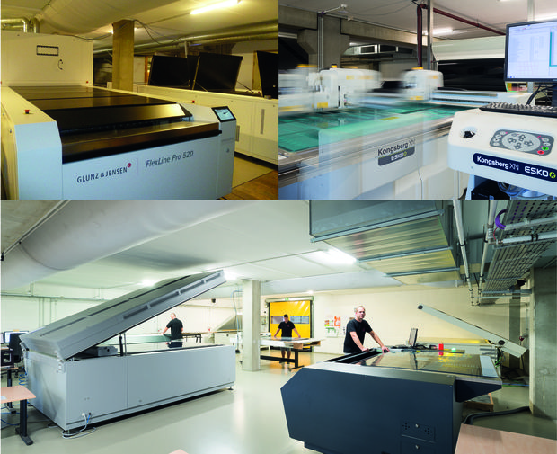 State-of-the-art flexo department