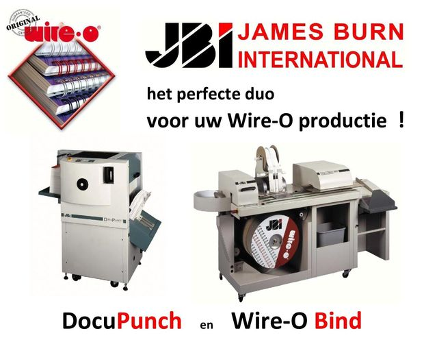 Vegram Graphics - JBI  Wire-O® en het perfecte duo !