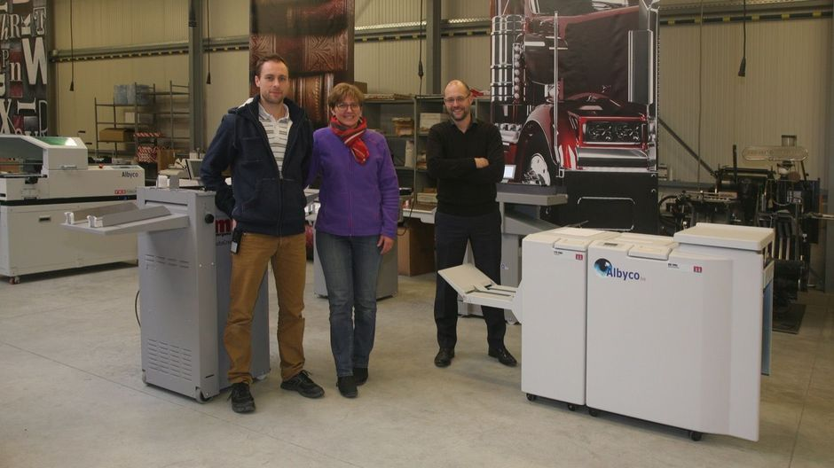 Binone Graphique - Villers Le Bouillet investeert in Print Finishing