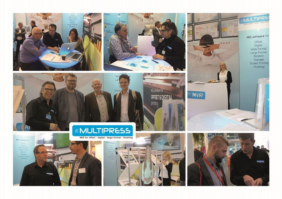 MultiPress geniet internationale belangstelling op DRUPA '16!
